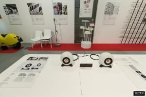Die Schau rollt den Finalisten des Staatspreis Design den roten Teppich aus. © designaustria