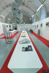 """Alle Gewinner und Finalisten des Staatspreis Design zeigt die Ausstellung """"Staatspreis Design 2015: Walk of Fame"""" im designforum Wien. © designaustria"""