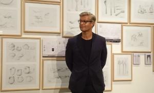 """Designer Thomas Feichtner bei der Eröffnung der Schau """"Thomas Feichtner / Design Unplugged"""". © WOHNDESIGNERS"""