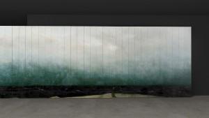So oder so: Das drehbare Wandelement SCALA verwandelt Räume in atmosphärische Bühnen. © Norbert Wangen