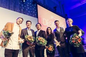 Die Finalisten des Electrolux Design Lab wurden auf die Bühne und ins Rampenlicht geholt. © Electrolux