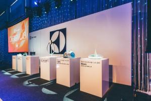 Die Konzepte der sechs Finalisten wurden bei der Gala präsentiert. © Electrolux