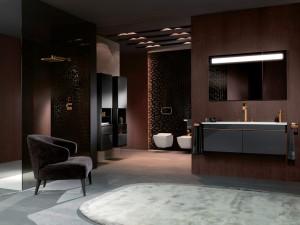Von elegant bis richtig bunt bringt Villeroy & Boch eine neue Farbigkeit ins Bad – wie mit der Badkollektion Venticello. © Villeroy & Boch