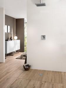 Für Individualität in der Dusche sorgen die Duschflächen Subway Infinity – insbesondere mit ViPrint. © Villeroy & Boch