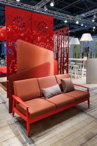 Möbel wie BuzziNordic erscheinen mit neuem Look und Feel. © BuzziSpace/Kvadrat