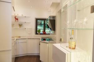 Klein und oho ist die von Cornelia Kronberger gestaltete Miniküche. © Cornelia Kronberger