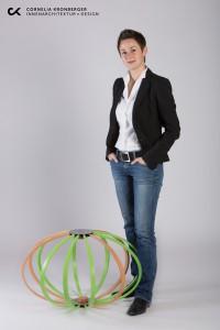 """Cornelia Kronberger kreierte den raffinierten """"Ripball"""". © Cornelia Kronberger/Foto: Heimo Hamminger"""