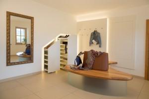 Besonderer Hingucker: Das von Cornelia Kronberger gestaltete Vorzimmer. © Cornelia Kronberger