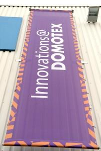 Die DOMOTEX wirft ihre Schatten voraus. Die Neuheiten für Innovations@DOMOTEX stehen fest. © Deutsche Messe