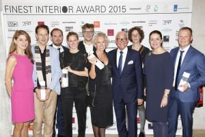 Die Preisträger freuen sich über den hochkarätigen Award. © Birgit Bielefeld, Frankfurt