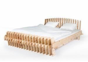 """Schlaf im Energiefluss: Das """"FLUSSBETT"""" von Ing. Thomas C. Wasserbauer, BSc sorgt für optimalen Schlaf. © FLUSSBETT"""