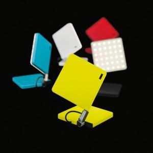 Der Schmetterling stand für die kabellose LED-Leuchte Pate, die formschön und farbenfroh daher kommt. © Nimbus Group