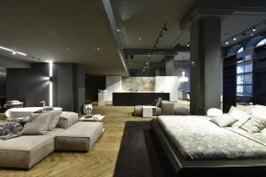 Auf 350 Quadratmetern findet sich hochkarätiges Interior Design. © Gortana Photography