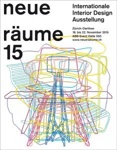 """Die """"neue räume 15"""" in Zürich zeigte fünf Tage lang Interior Design-Innovationen und bot reichlich Impulse. © neue räume"""
