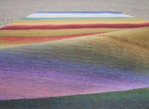Textildesign vom Feinsten: Beate von Harten zeigt auf der WIKAM ihre neuesten Kreationen. © Atelier für Textildesign