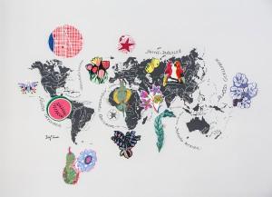 Inspirationen aus aller Welt verwandelte Frank in spannende Muster und Stoffe. © www.photo-simonis.com