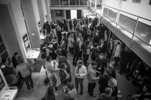 Unter viel Applaus und bei feierlicher Stimmung wurden die Gewinner bei Kaspar Kraemer Architekten geadelt. © Thilo Ross, Image Agency