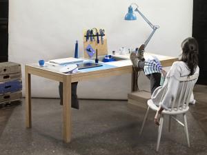 Der Tisch ist das Ergebnis eines zweijährigen, ungewöhnlichen Entwicklungsprozesses. © Daniel Sostaric