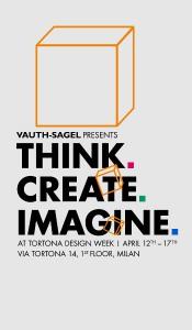 """""""Think. Create. Imagine."""" - mit einer interaktiven Rauminstallation unter diesem Motto lädt Vauth-Sagel beim """"Salone"""". © Vauth-Sagel"""
