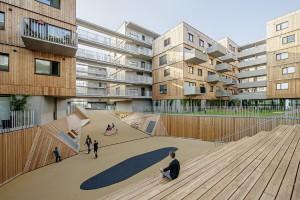"""Regional individuell, steht Architektur im Rampenlicht Das Motto der Architekturtage 2016: """"wert/haltung"""". Im Bild: Wien; berger + parkkinen, querkraft. © Hertha Hurnaus"""