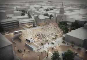 Für heute und morgen: Architektur in allen Facetten wird gezeigt. Im Bild: NÖ; Südtiroler Platz Neu. © Göbl Architektur