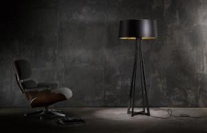 All in one: Ebenso wie die Leuchte No. 47 vereinen alle Leuchte Retro-Charme und High-Tech-Material. © BALADA & CO.