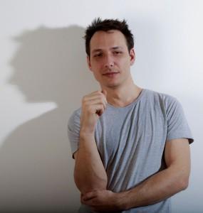 """Christian Lutz, NDU-Student und """"Prototyper"""", startet durch. © Nikolaus Korab"""