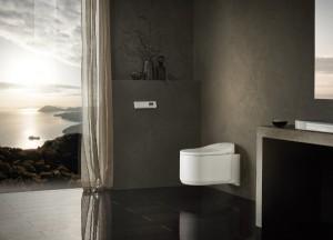 GROHE zeigt in Mailand auf – und dabei u.a. Neuheiten wie das GROHE Sensia® Arena Dusch-WC. © GROHE
