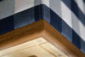 In einem eigenen Atelier, mit speziellen Know-how und aus Naturmaterialien entsteht das exklusive Bett. © Hästens
