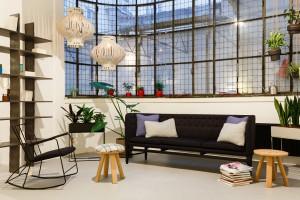 Nachhaltiges Interior Design ist die Spezialität von JOHAN. © Mathias Streibl
