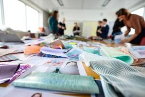 Aus Trendaussagen, neuen Materialien und Texturen, Farben und Mustern aus allen Teilen der Welt wird eine global gültige Trendaussage entwickelt. © Messe Frankfurt Exhibition GmbH / Pietro Sutera