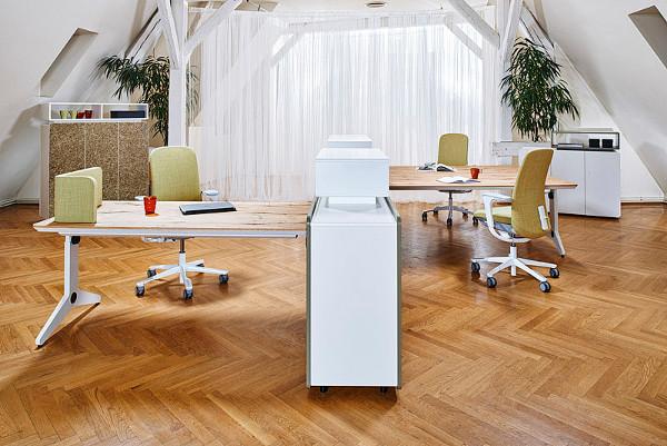 """Für den natürlichen """"New Way of Work"""":wohndesigners"""