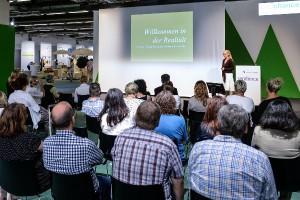 Die Tendence Academy bietet mit Vorträgen und Workshops Trends und Tricks. © Messe Frankfurt Exhibition GmbH / Pietro Sutera