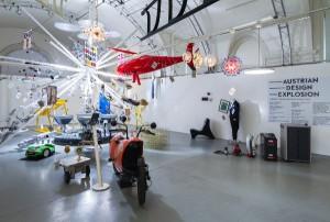 Die Ausstellung zeigt herausragende Arbeiten aus der österreichischen Design- und Technologielandschaft. © designaustria / Jana Madzigon