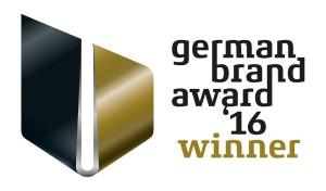 "BORA erhält den ""German Brand Award 2016"". © BORA"