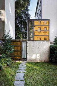 """Ein Wohnkonzept des GROHE-Wettbewerbs """"bad*future"""" ist Berlin zu sehen. © Christian Rose"""