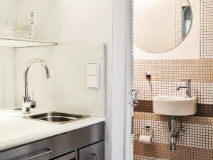 Ob in der Küche oder im Bad: Bei der Ausstattung wurde auf GROHE gesetzt. © Christian Rose