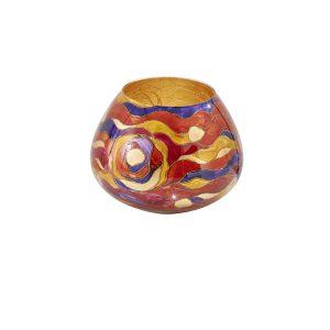 Fließend, fantasievoll und mit raffiniertem Farbmix begeistert KOLARZ-Dekor AQUA. © KOLARZ