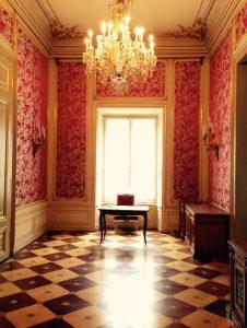 Fein: Die edlen Kreationen zieren den Palazzo Pallavicini in Wien. © San Leucio Silk
