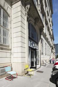 Das Thonet Pop-up-Café eröffnet in der Alten Post mitten in der Wiener City. © Thonet