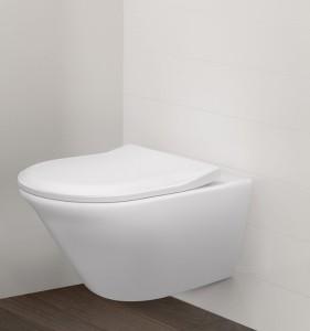Raffiniert sind auch die WC-Lösungen. © Villeroy & Boch