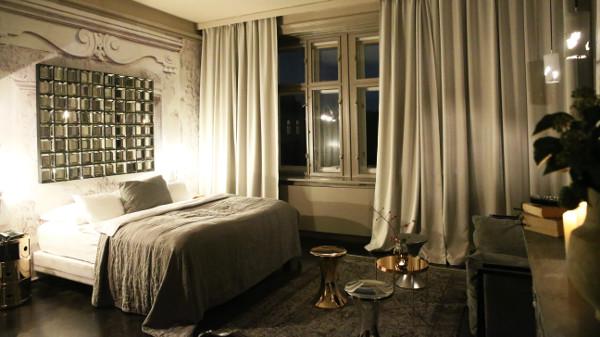 Andi Lackner gestaltete zwei Zimmer im Boutiquehotel Altstadt Vienna. © Inge Prader