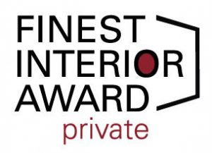 Der FINEST INTERIOR AWARD:private geht in die Verlängerung – noch kann eingereicht werden. © FINEST SPIRIT UG/FINEST INTERIOR AWARD