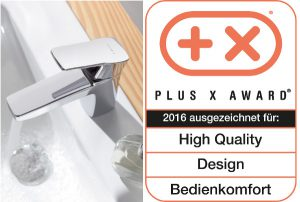 """Die innovative Kreation wurde beim Plus X Award mit dem Gütesiegel """"High Quality, Design und Bedienkomfort"""" geadelt. © KLUDI"""