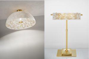 : Im Libertà-Style erstrahlen Wandschalen und mächtige Lichtkuppeln, aber auch die Banker's Lamp. © KOLARZ