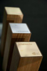 """Der NWW Design Award 2017 zum Thema """"Die Neue Gastlichkeit"""" ruft, die Trophäen stehen bereit. © Neue Wiener Werkstätte"""