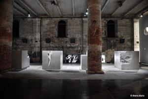 Bei der Architektur-Biennale zeigen marte.marte Architekten und dade-design.com kräftig auf. © Marte.Marte