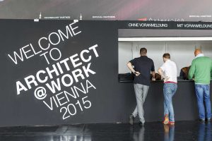 Welcome 2016: Die ARCHITECT@WORK lädt am 12. und 13. Oktober in die Stadthalle Wien. © ARCHITECT@WORK