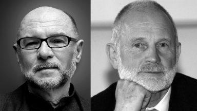 Kreative Köpfe: Peter Maly und Helmut Lübke. © COR