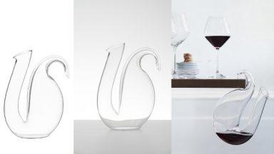 Ayam von Riedel glänzt mit Design für Auge und Gaumen. © Riedel